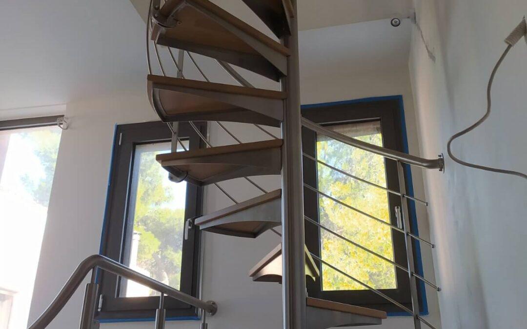 Σκάλα inox